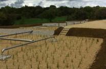 Station d'épuration par filtres plantés de roseaux de 600 EH à Brouzet Les Quissac
