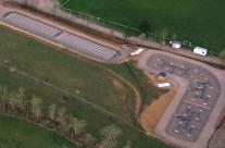 Station d'épuration par filtres plantés de roseaux de 800 EH à Lanuéjols