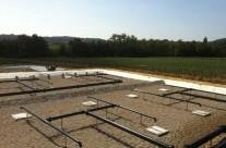 Station d'épuration par filtres plantés de roseaux de 700 EH à St Pons La Calm