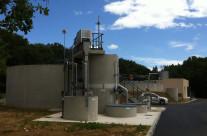 Station d'épuration  par boues activées de 1600 EH à St Victor de Malcap