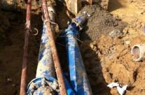 Renouvellement des conduits en eau potable dans la traversée du Vidourle à Corconne