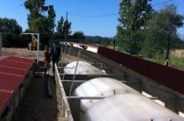 Station d'épuration de 800 EH à Canaules et Argentieres