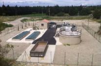 Station d'épuration par disques biologiques de 500 EH à Boulbon