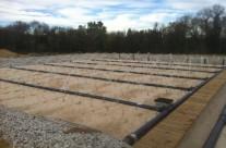 Station d'épuration de 1 000 EH par filtres plantés de roseaux à Moulezan