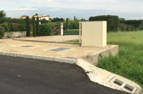 Extension réseau eaux usées route de la Corse à Arles
