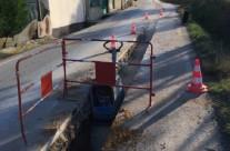 Réseaux eau potable et eaux usées à Lirac