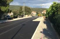 Aménagement du chemin de Sauviac à Claret