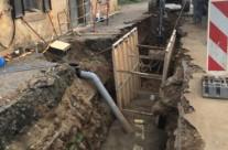 Réhabilitation des réseaux d'assainissement suite au schéma directeur à Lanuéjols