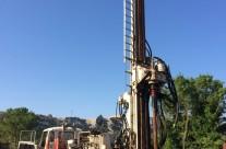 Travaux d'alimentation en eau potable – Forage de pré-exploitation à Lirac