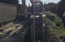 Réhabilitation des réseaux d'eau potable et d'assainissement sur le territoire du syndicat de LIRAC