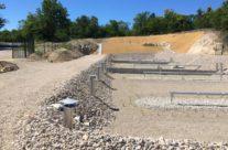 Réalisation d'une station d'épuration à Colognac