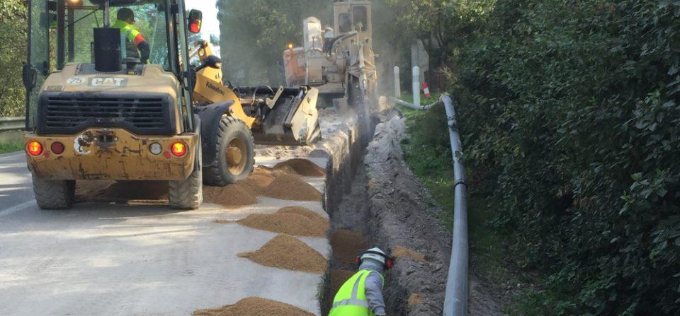 Travaux d'extension des réseaux d'eau potable de l'Avenue de la Libération à l'Abbaye de Montmajour à ARLES