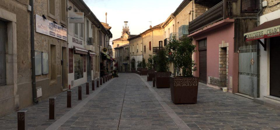 Aménagement du centre ville de Quissac