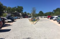 Aménagement d'un parking et de sa voie d'accès à Sauve