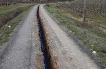 Travaux de renouvellement des réseaux d'adduction d'eau potable sur le territoire du syndicat des Gardies