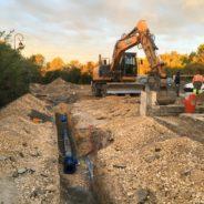 Renouvellement des réseaux d'eau potable à Saint Clément