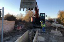 Extension du réseau d'assainissement du quartier de Gimeaux sur Arles