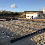 Création d'une station d'épuration de 1 000EHpar filtres roseaux plantés sur la Commune de Lauret