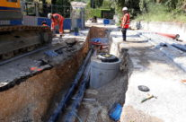Renouvellement des réseaux d'eau potable et d'assainissement à Montferrier sur Lez